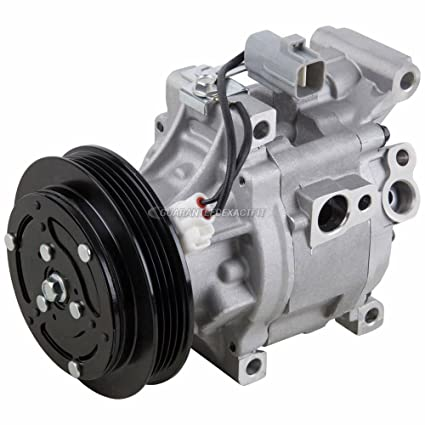 Amazon.com: AC Compressor & A/C Clutch For Toyota Echo 2000 2001 2002 2003 2004 2005 - BuyAutoParts 60-00829NA NEW: Automotive