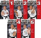 5 DVD SET Japanese Shotokan Karate Do - Kiyoshi Yamazaki 8th Dan Ryobukai