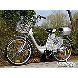 Bici elettrica, 250W, 36V, 66cm–Pedelec bicicletta con motore citybike