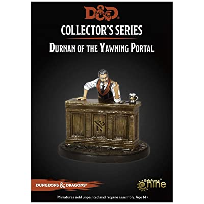 Dungeons & Dragons Waterdeep Dragon Heist: Durnan of The Yawning Portal (1 Fig) Collector's Series Miniature: Toys & Games