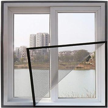 Faneli - Mosquitera para ventana (telescópica, marco de aluminio), Negro: Amazon.es: Bricolaje y herramientas