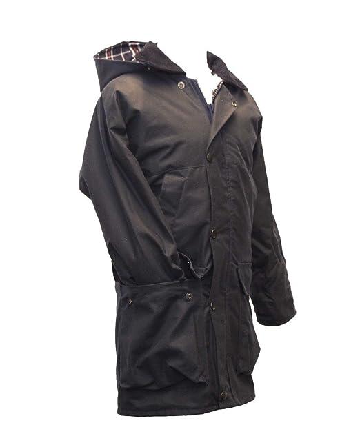 881fd5f6b1b Walker   Hawkes - Childrens Padded Wax Jacket Countrywear Hunting Waxed  Coat - Navy - 20