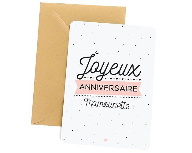 Carte Anniversaire.Carte Anniversaire Maman Carte De Voeux Joyeux
