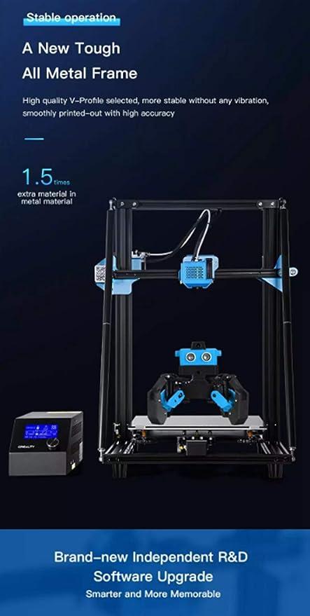 HYTM Impresión 3D Gran Impresora 3D Industrial con El ABS ...