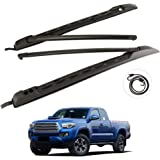 Tuntrol Roof Rack Cross Bars Set Fit for 2005-2020 Toyota TacomaDouble Cab Luggage Carrier Roof Rail Crossbars