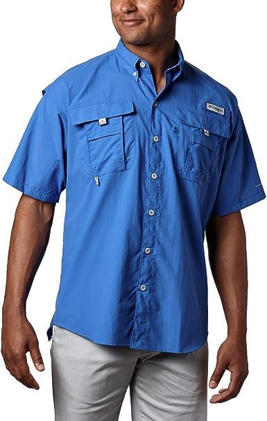 Columbia Silver - Camisa para Hombre, tamaño Einheitsgröße, Color Hyper Azul Big Plaid: Amazon.es: Deportes y aire libre