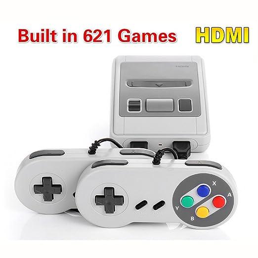 Retro Classic Family Game Mini Consola Hdmi Con 621 Juegos