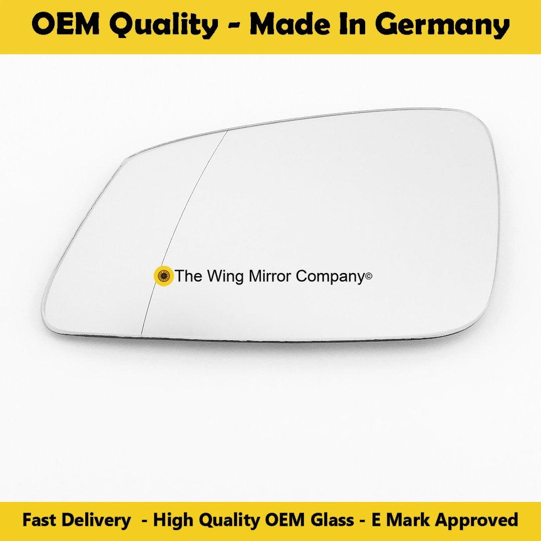 TWMC-3S 2012 2017 Door Wing Mirror Glass LH Passenger Side