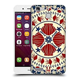 Head Case Designs Black In-line Doodle Owls Protective Snap-on Hard Back Case Cover for Samsung Galaxy W I8150