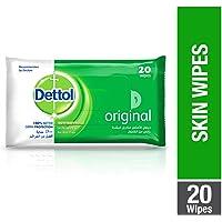 Dettol Original Antibacterial Skin Wipes 20 Count