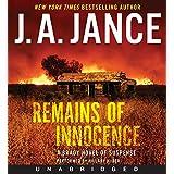 Remains Of Innocence Unabridged Cd: A Brady Novel Of Suspense