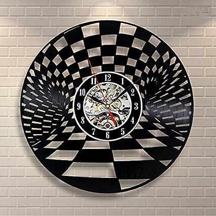 Türign® Relojes de Pared Reloj De Cuarzo hueca placa mesa Relojes, Reloj, Reloj