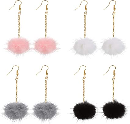 Sydney Pom Earrings