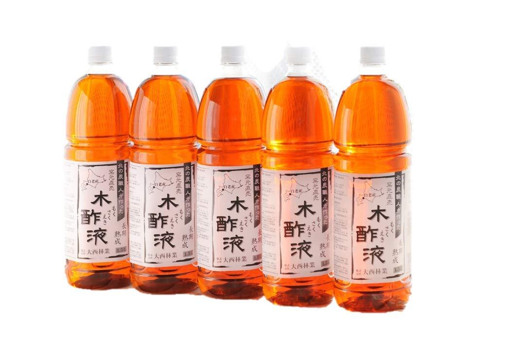 熟成木酢液1.5L×10本セット B00566JV6C