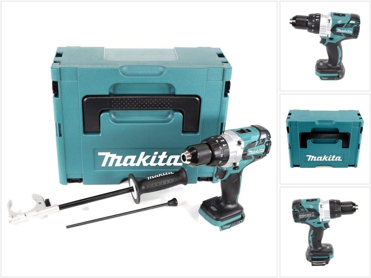 Makita DHP 481 ZJ 18 V, 115 Nm, sin bater/ía ni cargador Taladro atornillador inal/ámbrico sin escobillas