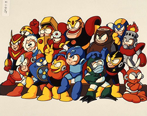 Megaman Poster Nitendo Gameboy NES Wall Art 16x20 Inches