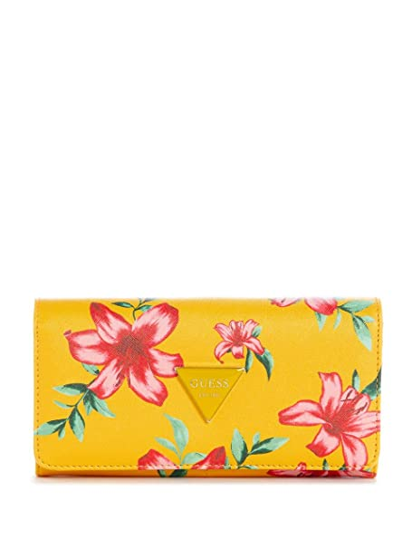 ce7b40f2fec1 GUESS Factory Women's Abree Printed Wallet