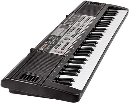 Teclado Electrónico De Juguete Musical para Niños, 61 Teclas ...