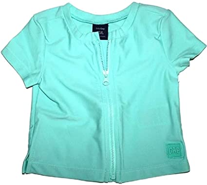 4dd69a23f34dc Baby Gap Toddler Girl's Swim Rash Guard Cover Up Jacket with Zipper (18-24