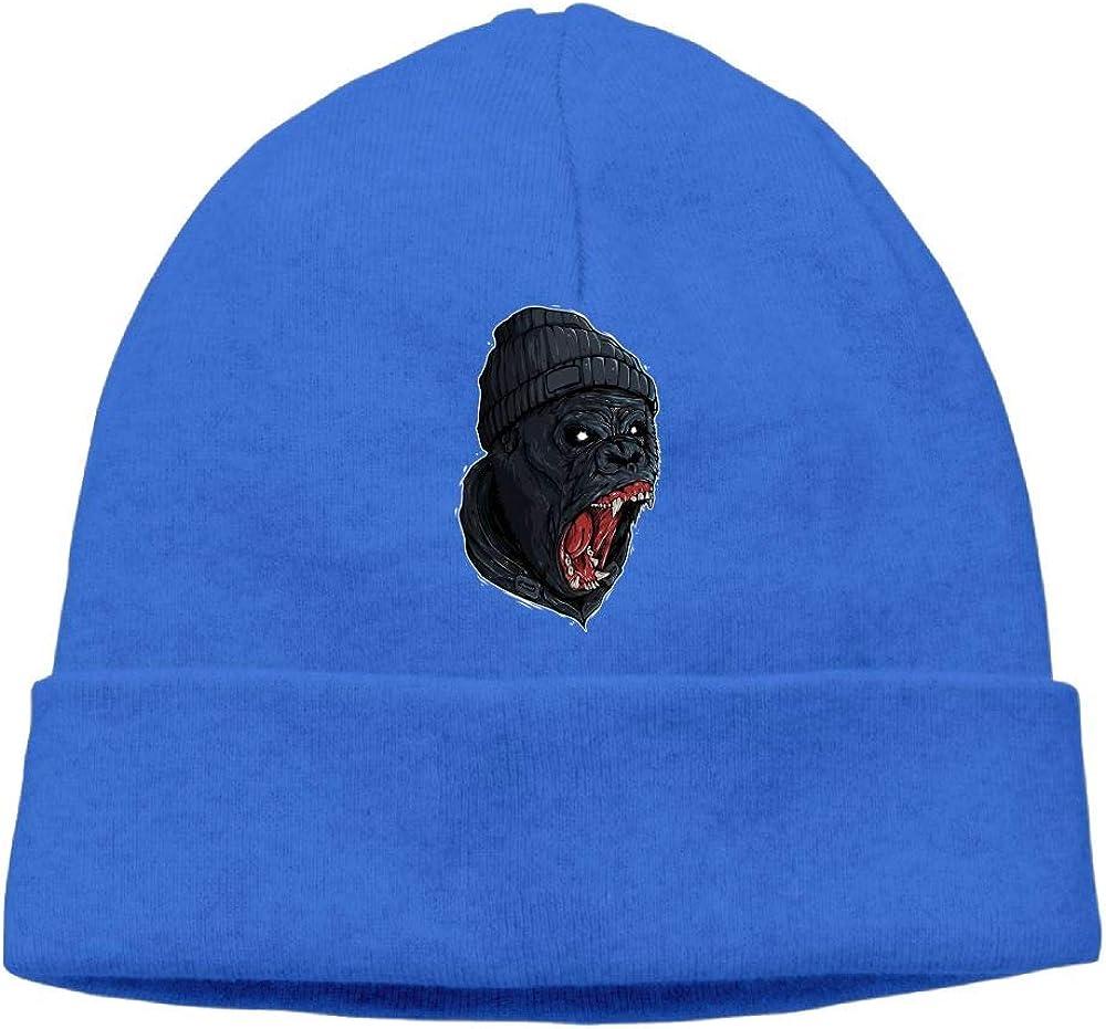 Gorillas Scary Beanie Hat Skull Cap Women Men