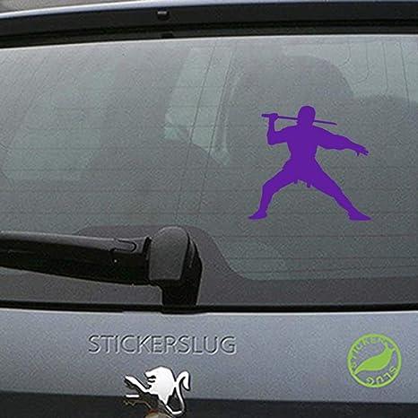 Amazon.com: Ninja Decal Sticker (Purple, 8 inch) for car ...