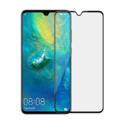 Mate 20 Tempered Glass Screen Protector, 2 Pack Case Friendly Tempered Glass HD Clear Bubble Free 9H Hardness Tempered Glass for Huawei Mate 20, [Anti ...