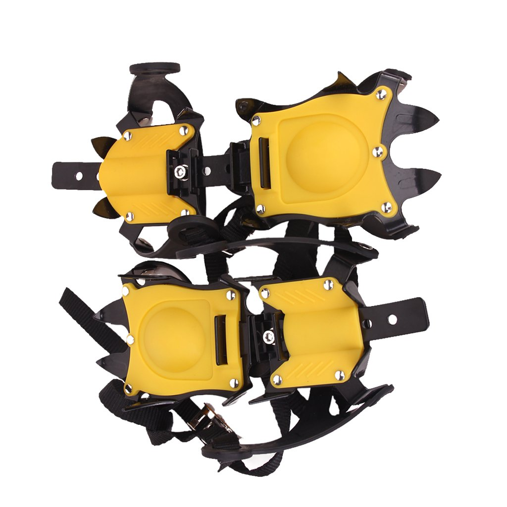 1 Pair of Anti-Slip Ice/Snow Shoe Crampons/Cleats/Gripper for Outdoor Climbing Walking Generic