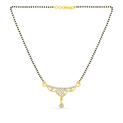Malabar Gold  amp; Diamonds 22KT Yellow Gold Mangalsutra for Women