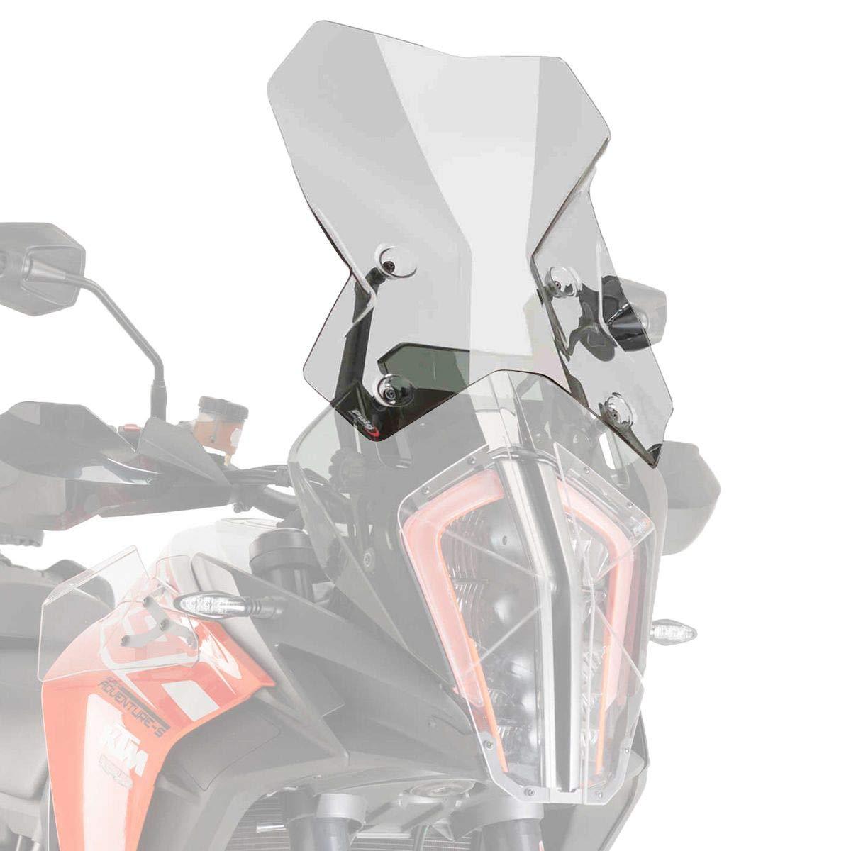 Puig Touring Screen Color Transparent 9421W 1000 Kawasaki Versys 650 17-18 Black