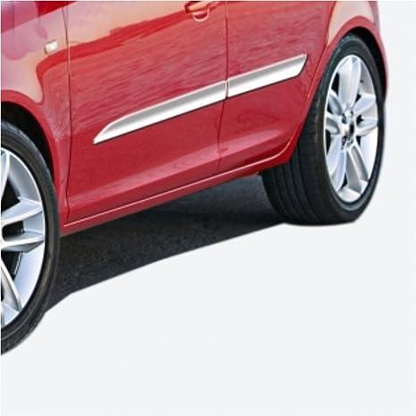ks1339 – Barra de acero inoxidable para puerta con moldura 4 STK Adecuado para Opel Corsa