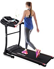 Merax Electric Folding Treadmill Easy Assembly Motorized Running Jogging Machine for Home Use