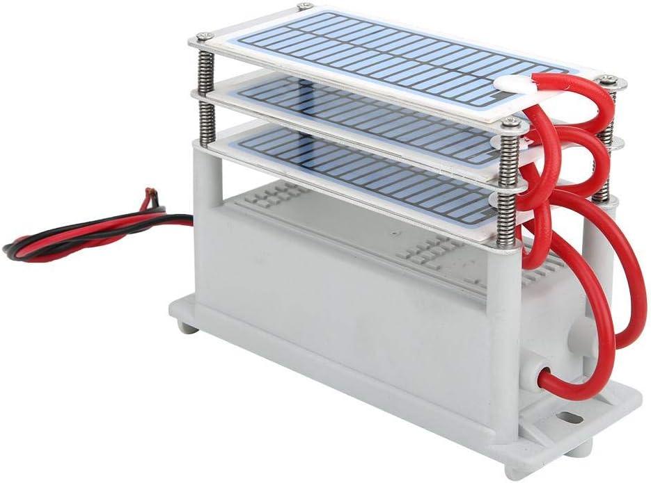Vikye Generador de ozono, 18G Generador de ozono Integrado Chip a Prueba de Humedad Purificador de Aire portátil Limpiador más Fresco para secadoras Refrigeradores, hogar u Oficina(220V)