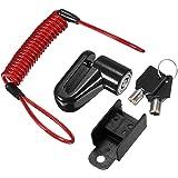 Lixada Anti-Theft Steel Wire Lock Disc Brakes Wheels Locker for Xiaomi Mijia M365 Electric Scooter