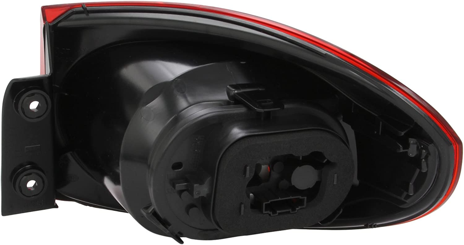 HELLA 2SD 009 691-091 Combination Rearlight 12V with bulbs with lamp base Bulb Technology Left