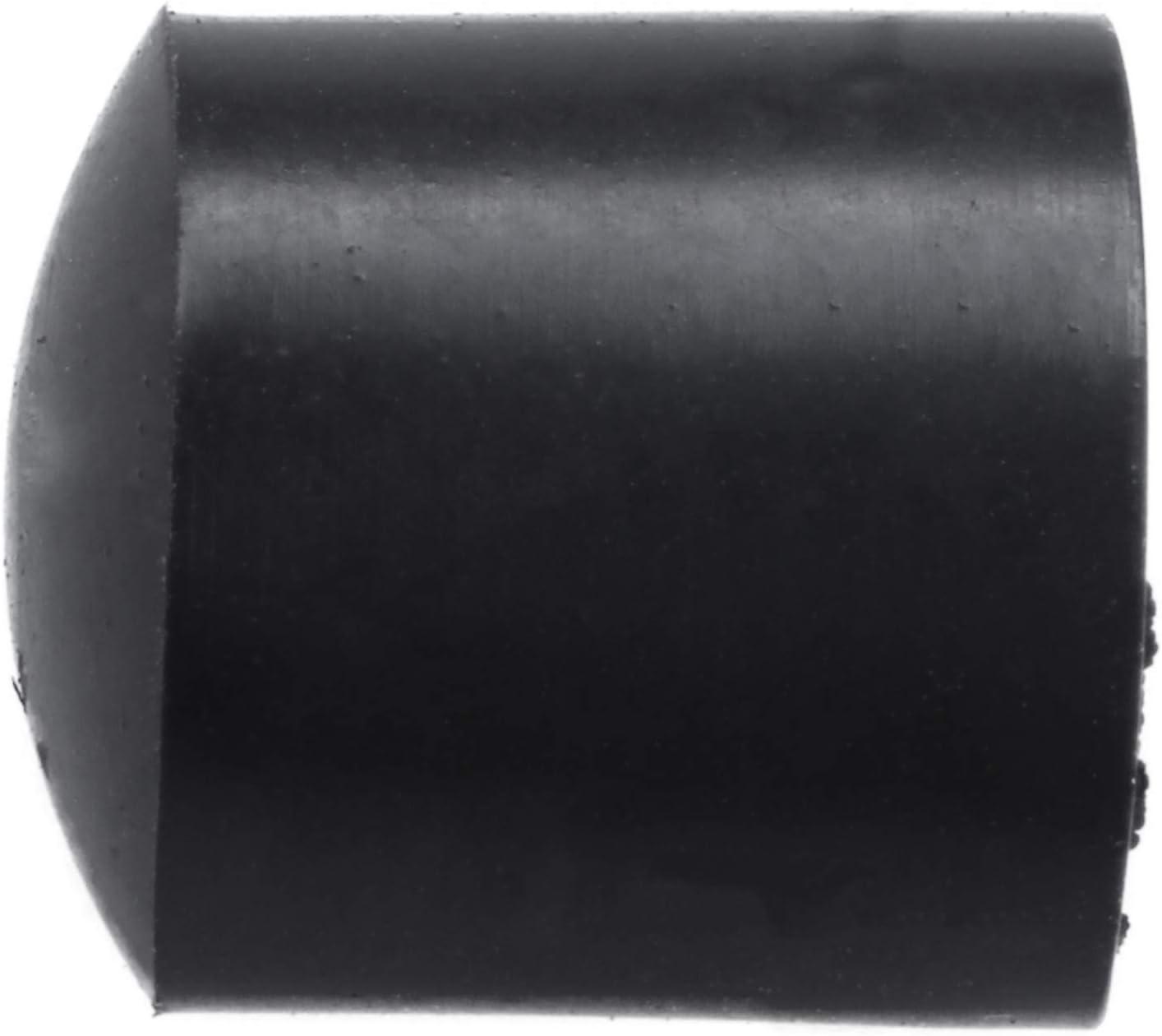 Suading Gummikappen 40-teilig schwarz Gummi Rohrenden 10mm rund