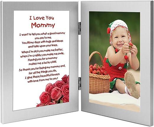 Amazon.com: Mommy – regalo de cumpleaños Sweet Poema de hijo ...