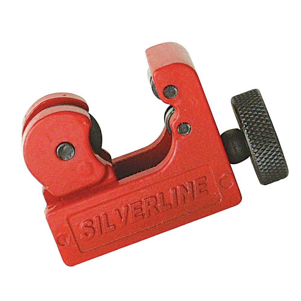 Silverline 1/8'' x 7/8'' Mini Tubing Cutter, 959236
