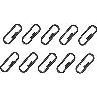 Strap Loop Fastener Rings for Garmin Vivosmart HR HR+ Approach X40 Bands Black Rubber Replacement Watch Bands Strap Keeper Loop Security Holder Retainer Ring for Vivosmart HR Plus Smartwatch