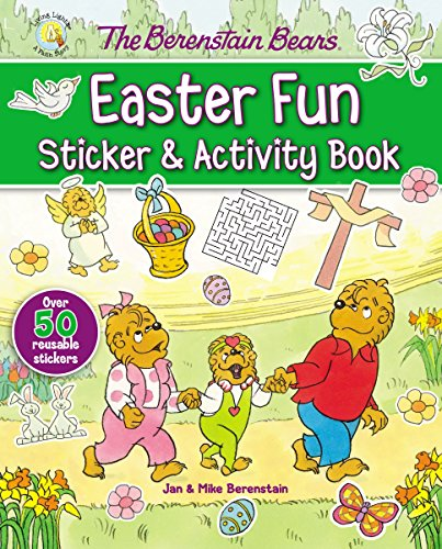 The Berenstain Bears Easter Fun Sticker and Activity Book (Berenstain Bears/Living Lights) cover