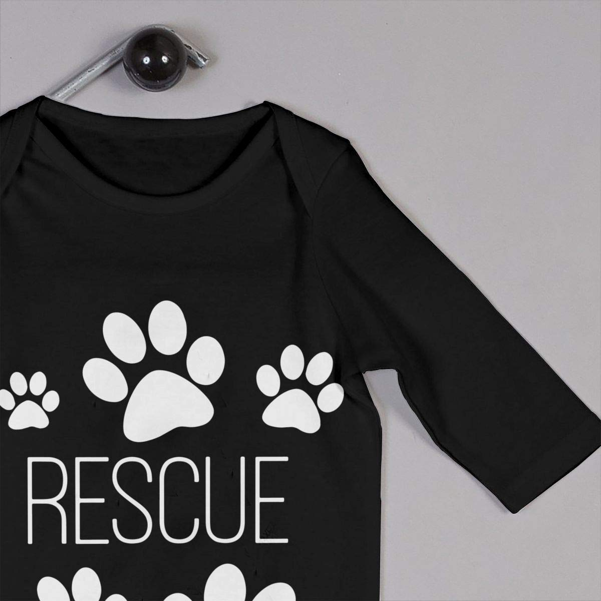 Infant Baby Girls Cotton Long Sleeve Dog Paw Print Rescue Climb Jumpsuit Funny Printed Romper Clothes