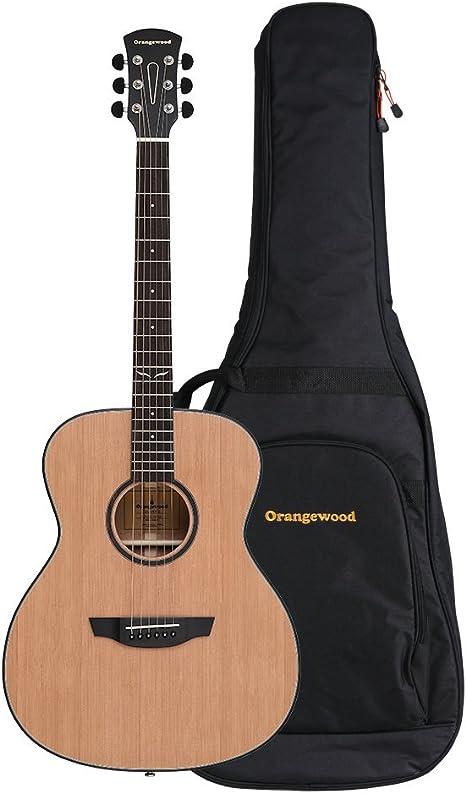 Orangewood OW-OLIVER-C Oliver, parte superior de cedro macizo ...