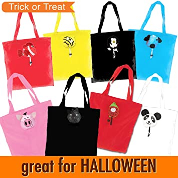 amazon com cute carriers 8 pieces party favors tote bags