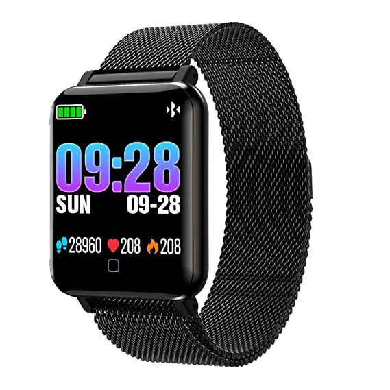 Amazon.com: Smart Watch M19 Fitness Bracelet IP67 Waterproof ...
