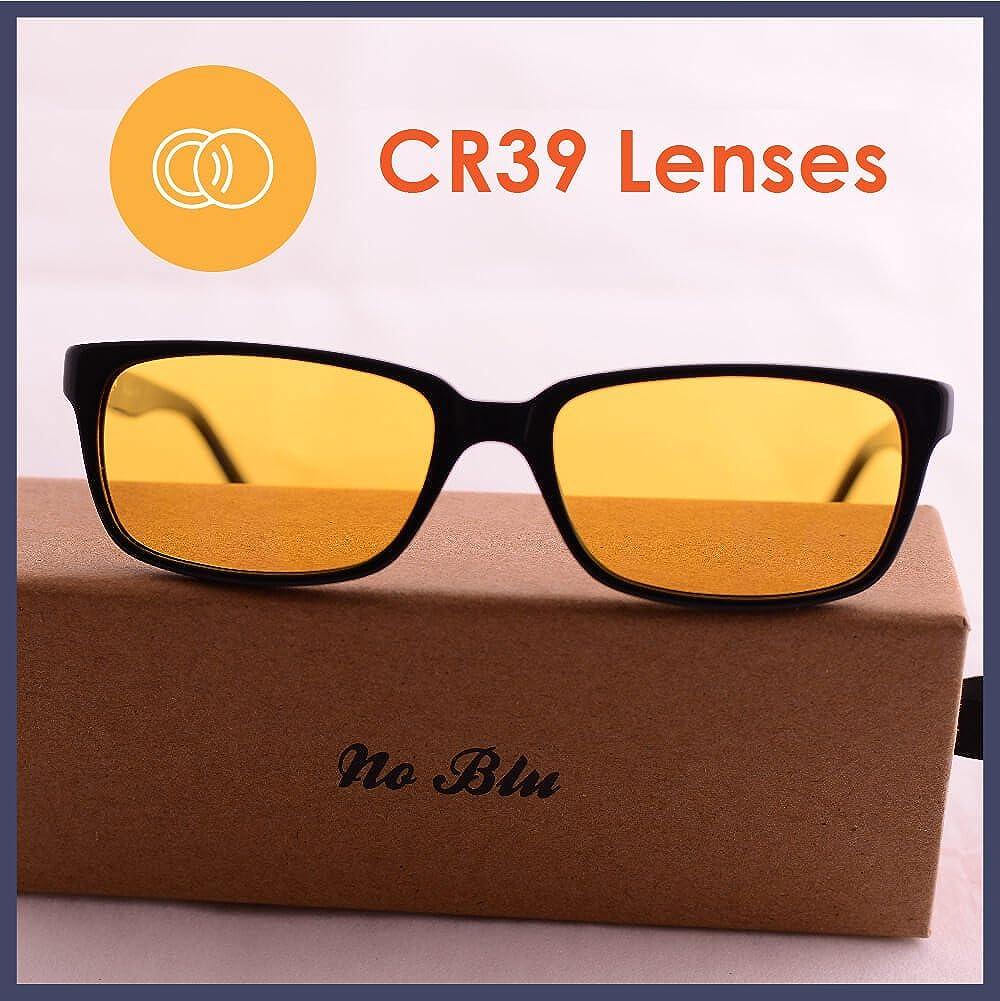 b6693763dc No Blu Blue Blocking Flexi-Fit Men s Rectangular Computer Glasses (Nb001