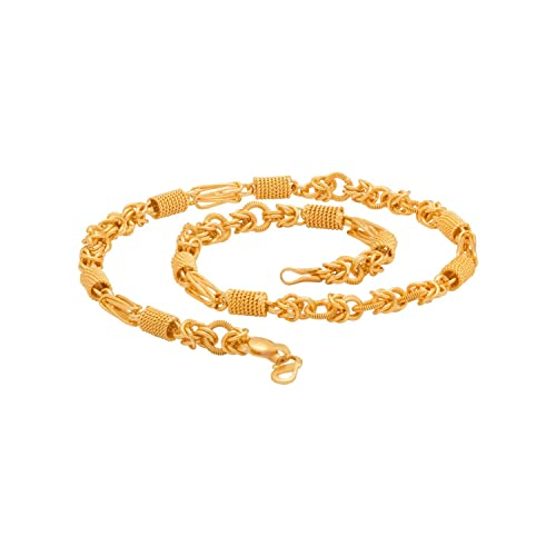aa4728e4f5ec2 Voylla Chain for Men (Golden)(8907617240237)  Amazon.in  Jewellery