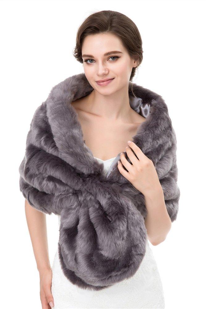 el precio más bajo 732cc 7a422 Insun Mujer Estolas Chales de piel Boleros Chal de moda de ...