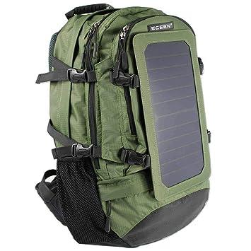 AZCX Mochila Solar 6.5W Mochila Viaje Solar Mochila de ...