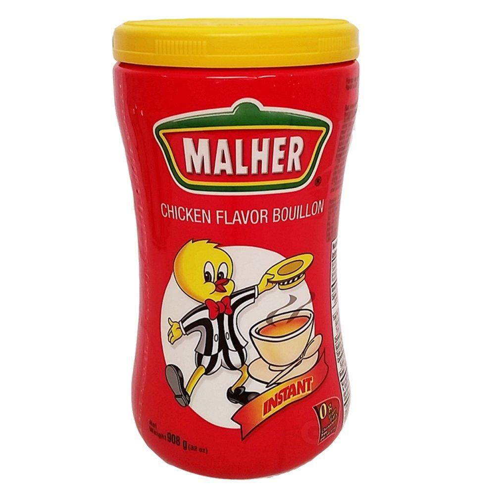 Malher Chicken Bouillon, 32 Ounce