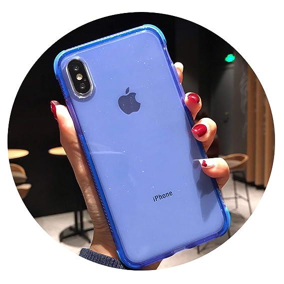 factory price 1c812 4ca5b Amazon.com: Simon-Stark Glitter Powder Phone Case iPhone Xs ...