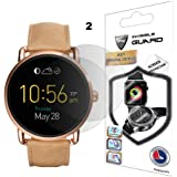 Fossil Q Wander Screen Protector (2 Units) Invisible Ultra HD Clear Film Anti Scratch Skin Guard - Smooth/Self-Healing/Bubble -Free by IPG